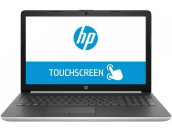 "$100 off HP 15.6"" Touch-Screen Laptop - Core i3, 8GB, 128GB SSD"