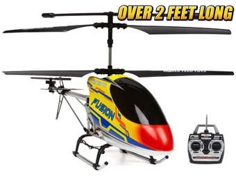 $60 off Gyro Fusion 3.5CH RC Helicopter