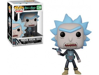 55% off Funko Pop! Animation Rick and Morty Prison Escape Rick