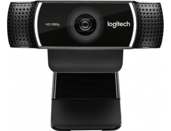50% off Logitech C922 Pro Stream 1080p HD Webcam