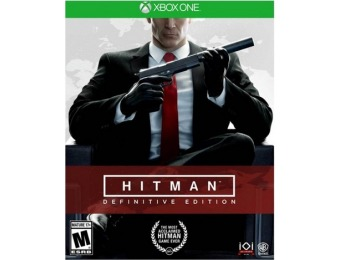 $21 off Hitman Definitive Edition - Xbox One