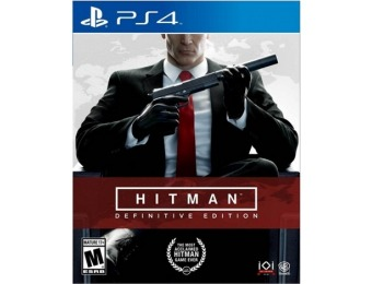 $21 off Hitman Definitive Edition - PlayStation 4