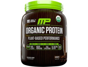 75% off MusclePharm MP Organic Plant Protein