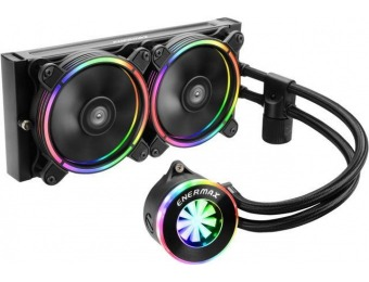 38% off Enermax Liqfusion RGB 240mm AIO Liquid CPU Cooler