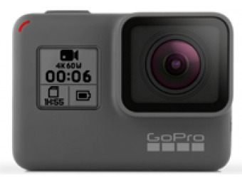 $150 off GoPro HERO6 Black 4K Ultra HD Camera
