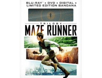43% off Maze Runner Trilogy (Blu-ray + DVD + Gift)