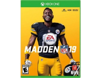 87% off Madden NFL 19 - Xbox One