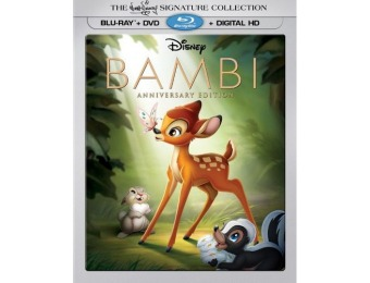 75% off Bambi [Signature Edition] Blu-ray/DVD