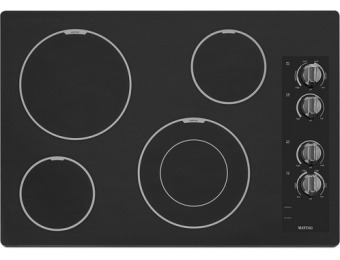 "$200 off Maytag 30"" Electric Cooktop"