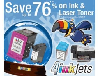 10% Off Discount Replacement Ink and Toner