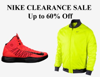 Nike Clearance Sale - Up to 60% off Shoes, Clothing & Accessories