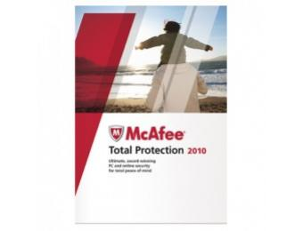 $28 off McAfee Total Protection 2010 Antivirus Software