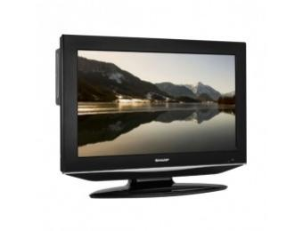 "Sharp 32"" LCD HDTV w/Built-in DVD"