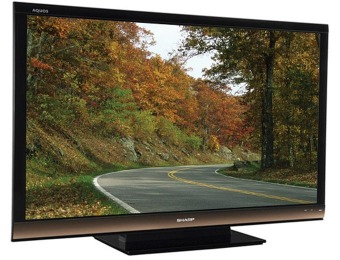 $1300 off Sharp AQUOS 65 Inch 1080p 120Hz LCD HDTV