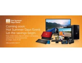 Dell 12 Hot Summer Days of Deals Event-New Deals Every Day