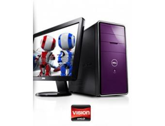 "25% Off Inspiron 570 Desktop with 23"" Monitor 6GB DDR3 1TB HDD"