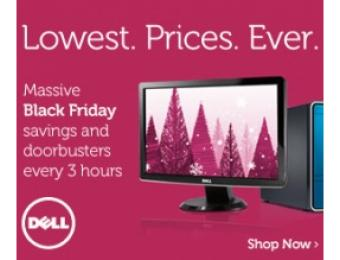 2012 Dell Black Friday Offers, Lowest Prices Ever!