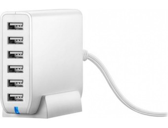 65% off Insignia 6-Port USB Wall Charger