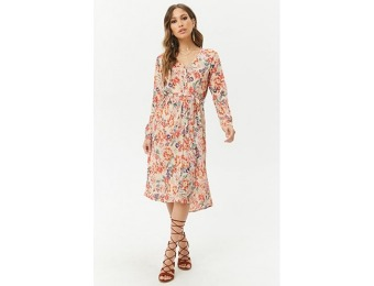 50% off Patrons of Peace Floral Dress