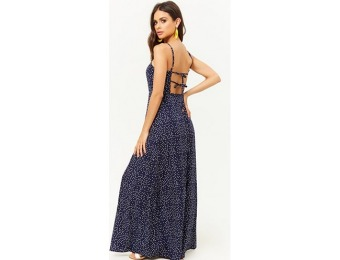 50% off Polka Dot Cami Maxi Dress