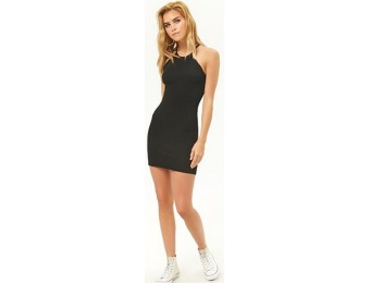 50% off Ribbed Mini Dress