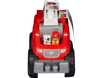 25% off Mega Bloks Storytelling Fire Truck Rescue Building Set