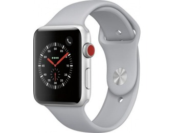 $143 off Apple Watch Series 3 (GPS + Cellular) 42mm, refurb