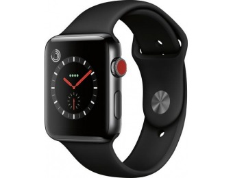 $178 off Apple Watch Series 3 (GPS + Cellular) 42mm, refurb