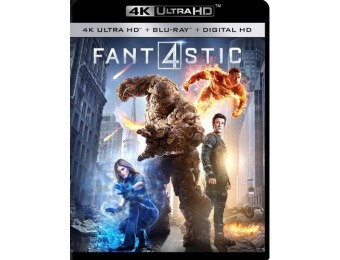 67% off Fantastic Four (4K Ultra HD Blu-ray + Blu-ray + Digital)