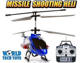 $70 off Missile Shooting Metal Arrow Hawk 3.5CH RC Helicopter