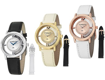 $285 Off Stührling Original Transparent Women's Watch Sets