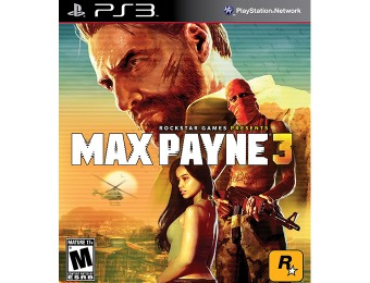 83% off Max Payne 3 (Playstation 3)