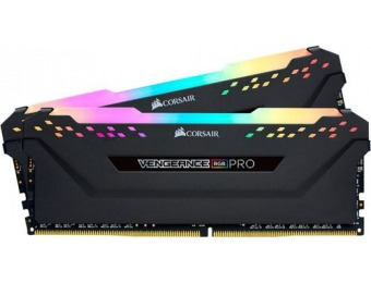 $110 off Corsair Vengeance RGB PRO 16GB (2PK 8GB) 3GHz PC4-24000 DDR4