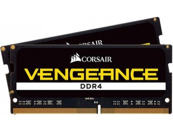 $100 off Corsair VENGEANCE Series 16GB 2.4GHz DDR4 Laptop Memory