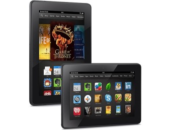 "$34 off Amazon Kindle Fire HDX 7"" Tablet with 16GB Memory"