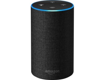 $50 off Amazon Echo (2nd gen) Smart Speaker with Alexa