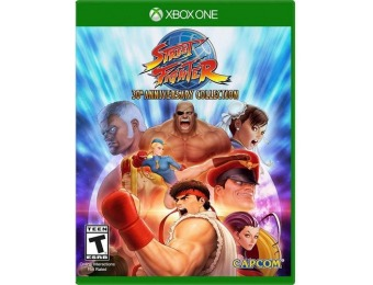 50% off Street Fighter 30th Anniversary Collection - Xbox One