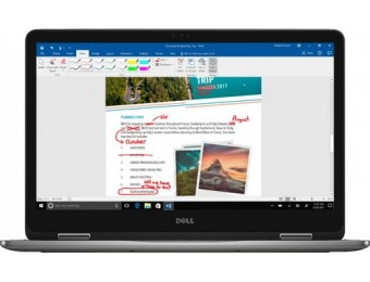 "$200 off Dell Inspiron 2-in-1 17.3"" Touch-Screen Laptop"