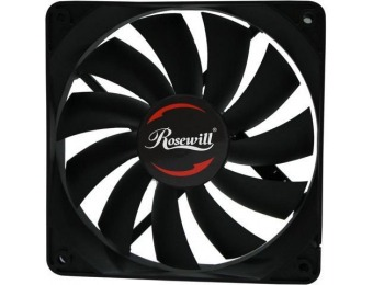 61% off Rosewill RAWP-141209v2 120mm Computer Case Cooling Fan