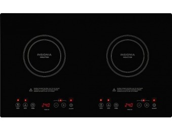 "$90 off Insignia 24"" Electric Induction Cooktop"