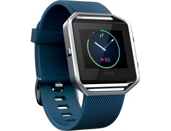 50% off Fitbit Blaze Classic Accessory Band - Blue