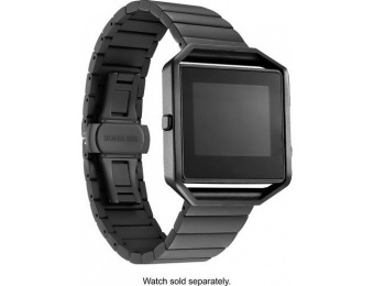 50% off Fitbit Blaze Platinum Smooth Link Metal Band