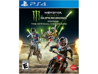 67% off Monster Energy Supercross - PlayStation 4