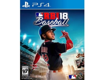33% off R.B.I. Baseball 18 - PlayStation 4