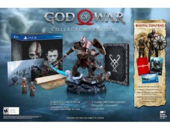 $20 off God of War Collector's Edition - PlayStation 4