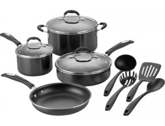 75% off Cuisinart 11-Piece Cookware Set