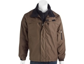 20% off Men's Ripstop Jacket with Polar Fleece Lining (4 colors)