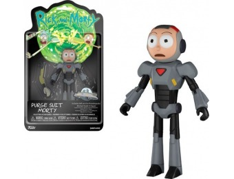 40% off Funko Rick and Morty - Morty (Purge Suit)