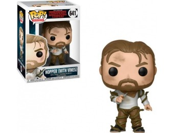 40% off Funko Pop! Stranger Things - Hopper (With Vines)