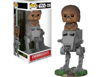 54% off Funko POP Deluxe: Star Wars Chewbacca in AT-ST